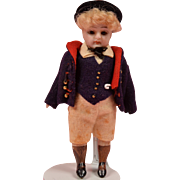 German All Bisque Boy - 3.75 Inches