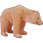 Steiff Polar Bear with Moveable head 1931 Replica