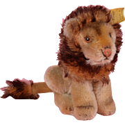 Steiff Leo the Lion, Sitting - 4.5 inches tall