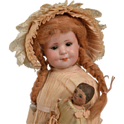 Cabinet Size Armand Marseille 550 Character Child - 10 inches