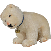 Steiff Mohair Standing Polar Bear - 6 Inches