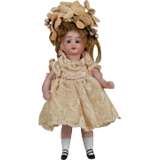 Simon & Halbig 887 All Bisque Child - 4 Inch