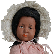 "Tiny K & R 101 Black Character Doll ""Marie"" - 7 Inches"