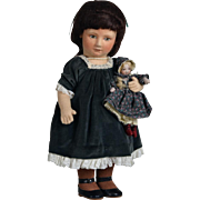 R John Wright Doll - Rachel - Sunday Best