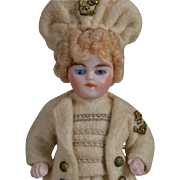Great All Bisque Mariner Boy - 3.5 Inches