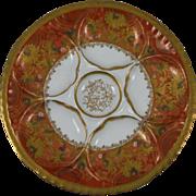 Antique Porcelain Oyster Plate Haviland Limoges