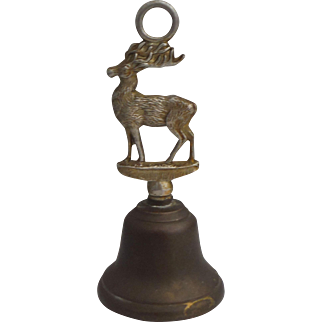 Brass Reinder Bell