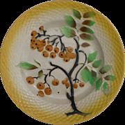 Majolica Berries Plate Orchies