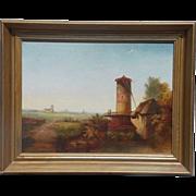 Fabulous Oil on Canvas Original Antique Estate Find Painting