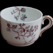 Delicate J.P.L. Jean Pouyat Demitasse Limoges France Porcelain Cup