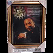 Vintage NIB Dr. Martin Luther King Jr. Clock