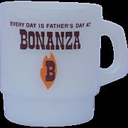 Vintage Fathers Day Bonanza Fire King Coffee Cup Mug