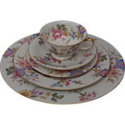 8 sets Vintage Castleton Sonnybrooke China 5 piece