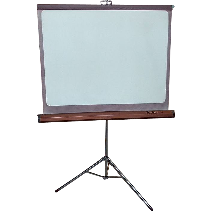 Used Furniture Lawrence Ks Never Used Da-Lite Challenger Glass Beaded White Magic Projection from ...