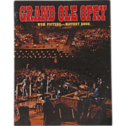 2 Original Artist Signatures 1979 Grand Ole Opry- WSM Picture History Book