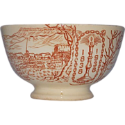 Historical Voortrekker Monument Commemorative bowl 1838-1938   Diens Uniewinkels Pretoria