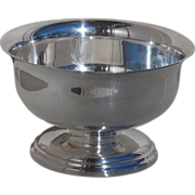 "Mid Century Saxton Inc. of California Silverplate  5"" Diameter Bowl"