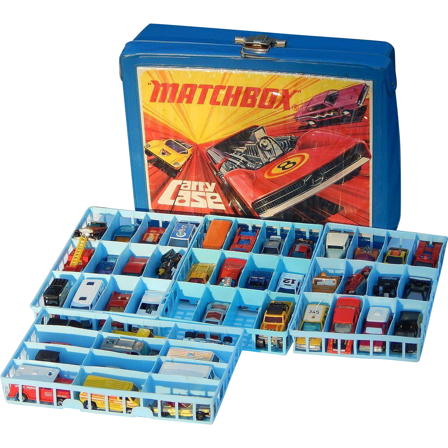 C1971 46 Hot Wheels Matchbox Lesney Etc Cars With 1971