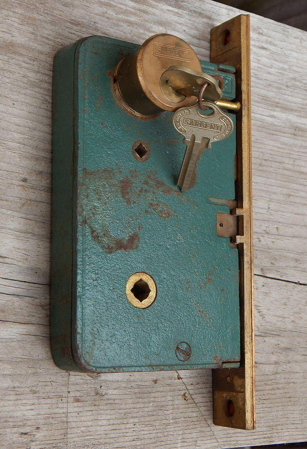 Corbin Entry Door Cast Iron Mortise Lock With Sargent