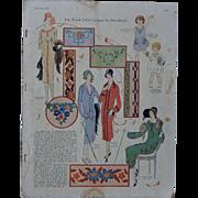 1925 August McCall Needlepoint Large Format Magazine