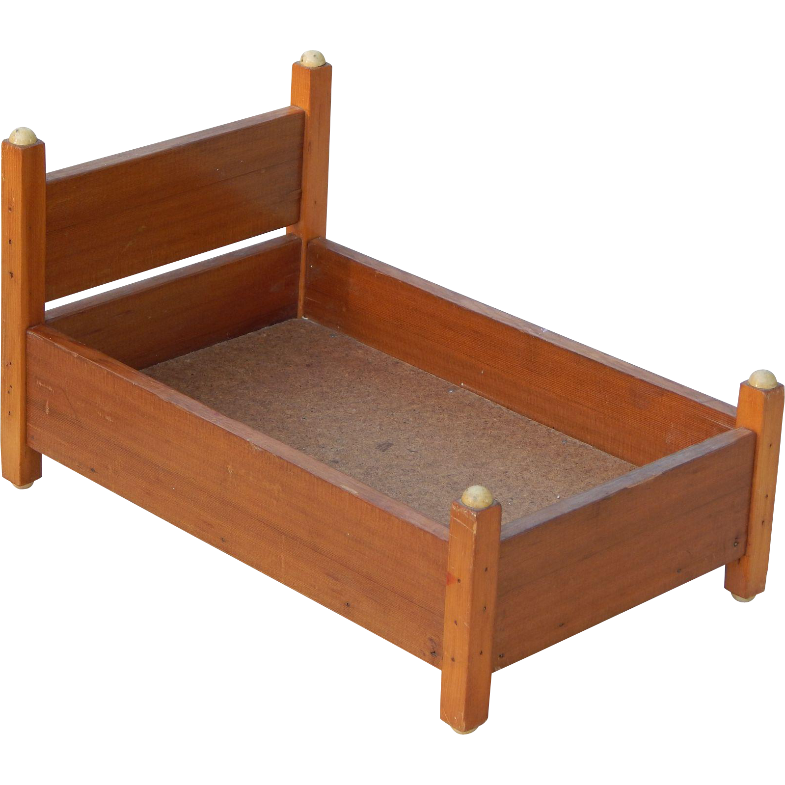 Handcrafted 15 39 Vintage Wooden Doll Bed From Retromonica On Ruby Lane