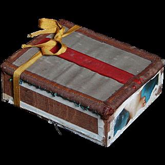 Precious Folk Art Leila Keepsake Box