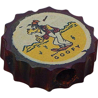 Vintage Disney Goofy Bakelite Pencil Sharpener