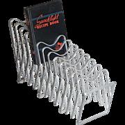 Collapsible Camco Industrial Metal Display Rack Repurposed