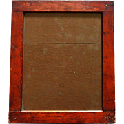 """Antique Greenpoint Optical Co Brooklyn NY photography 12""""x10"""" Printing Frame c.1890"""