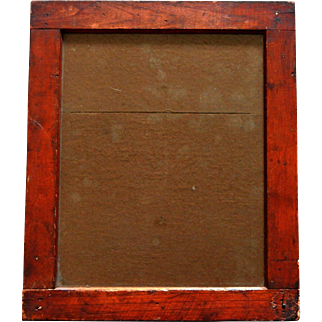 "Antique Greenpoint Optical Co Brooklyn NY photography 12""x10"" Printing Frame c.1890"