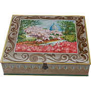 Vintage Sunshine Biscuit's Inc. U.S. Capitol Large Tin Box