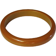 Vintage Butterscotch Tested Bakelite Stacking Bangle Bracelet