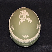 Wedgwood Jasperware Egg Box
