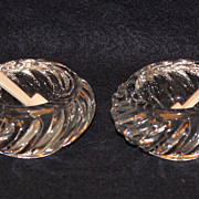 Pair of Baccarat Salt Cellars