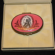 Bilston & Battersea Enamel Box - Wolfgang Amadeus Mozart