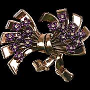 Stunning RARE Pennino Pin Retro  Rose Gold Vermeil ~ Big & Bold – Gorgeous!!