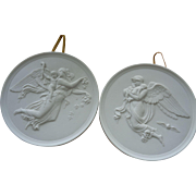 Royal Copenhagen Classical Plaques: Day and Night