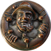 Copper on Silver Fisherman Nautical Box