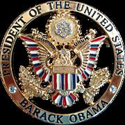 President Obama Inaugural Pin by Ann Hand