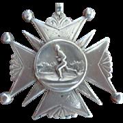 Sterling Running Medal 1896, England