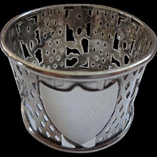 English Sterling Napkin Ring Birmingham 1904