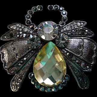 Queen Bee Pin/Brooch