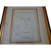 Authentic Picasso Etching