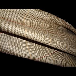 Scottish Tweed Fabric, 2 yards