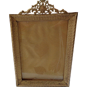 Vintage French Brass Frame