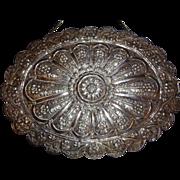 Large Sterling Turkish Mirror