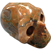 Hardstone Carved Skull