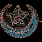 Victorian MicroMosaic Pin/Brooch 1880