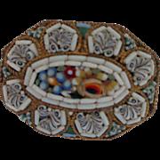 Micro-Mosaic Pin/Brooch 1900's