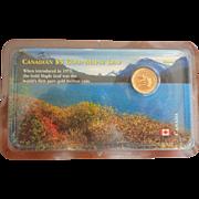 Canadian $5 Gold Maple Leaf